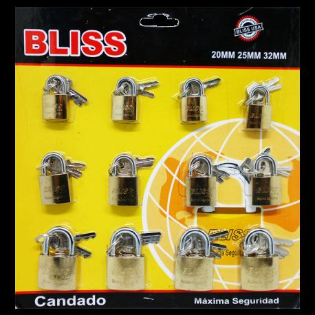 SET DE CANDADOS BLISS